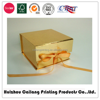 Manufacturer Popular new style cardboard gift packaging box