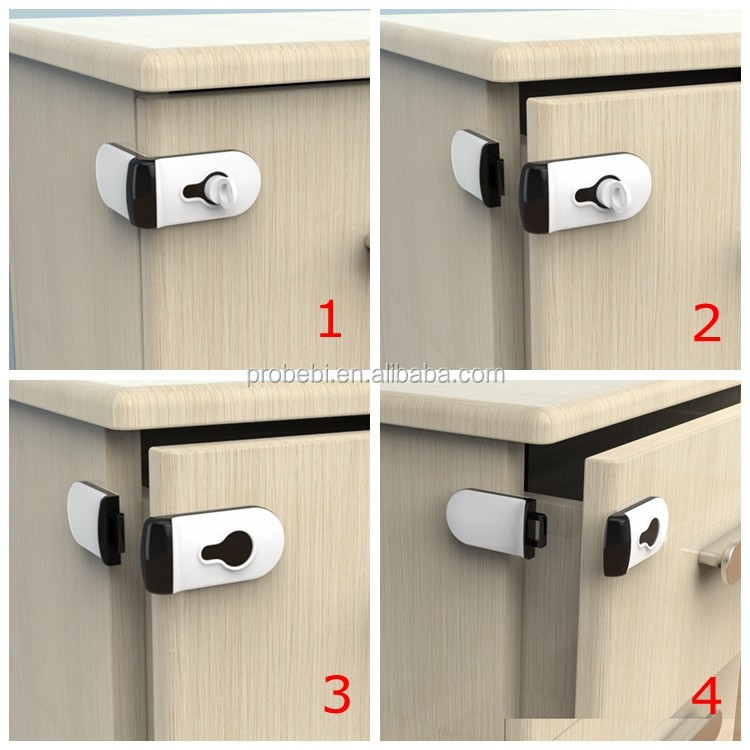magnetic child safety lock hidden magnetic lock