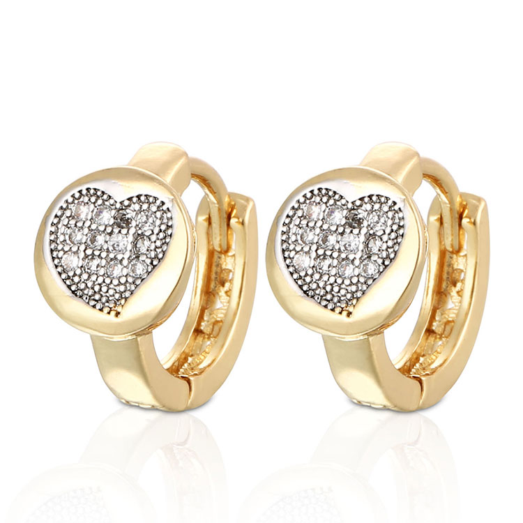 2018 Hengdian New Latest Designs Jewelry Simple Gold Earring Designs For Women