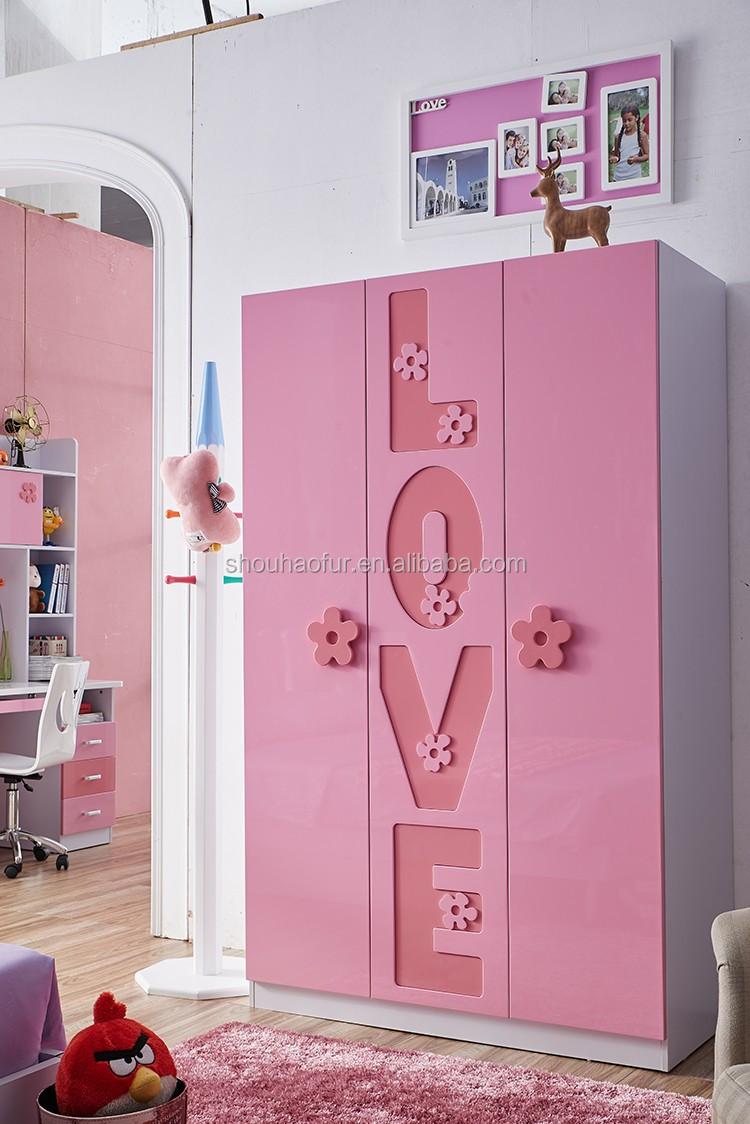 Girls Bedroom With High Quality Kids Bedroom Set For Sale