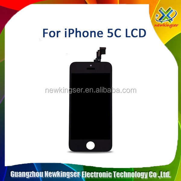 HOT SALE!100% test pass for iphone 5c original lcd fully assembly Durable in use