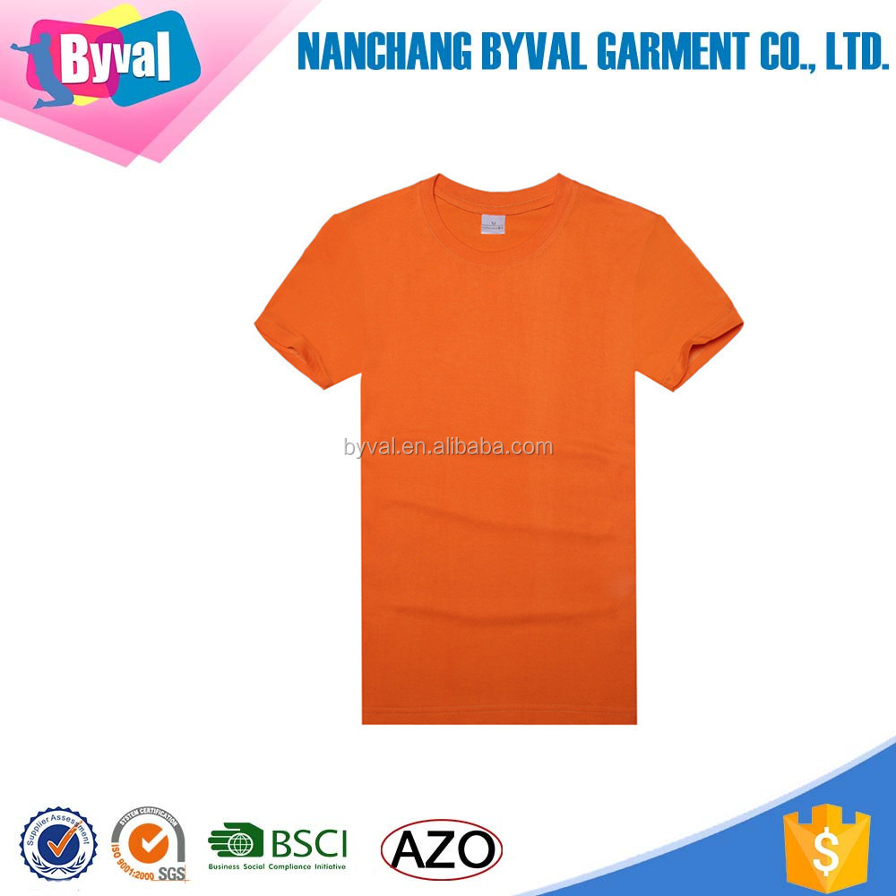 OEM Promotion overseas t shirts slim fit shirt tall t shirt wholesale