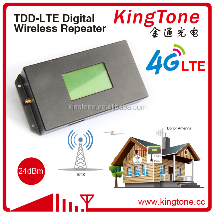 Kingtong TDD 4G LTE band 38/39/40/41 cellular signal booster amplifier