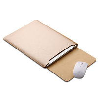 Soyan high quality 15 inch waterproof leather laptop case notebook sleeve for apple macbook pro i5
