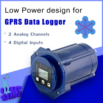 2 Analog Channels Gprs Data Logger For Water Pump House Automation ...