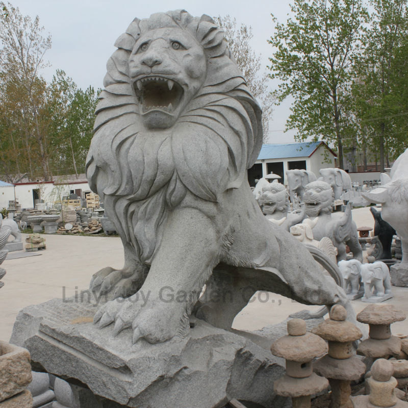 Tamanho vida jardim decora es de pedra est tuas de le es - Estatuas de jardin ...