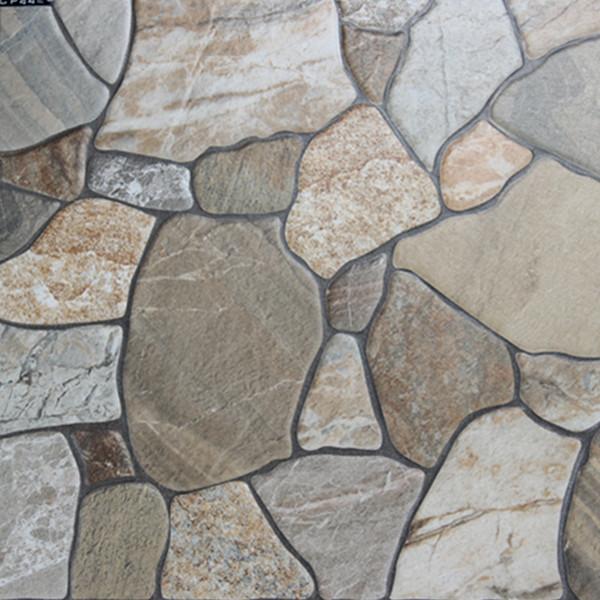 Rustic glazed anti slip balcony ceramic tiles view for Pisos de piedra para terrazas
