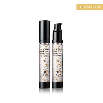 Menow Cosmetics SC15  Face Makeup Golden Nutritious Brightense  UV Skin Primer