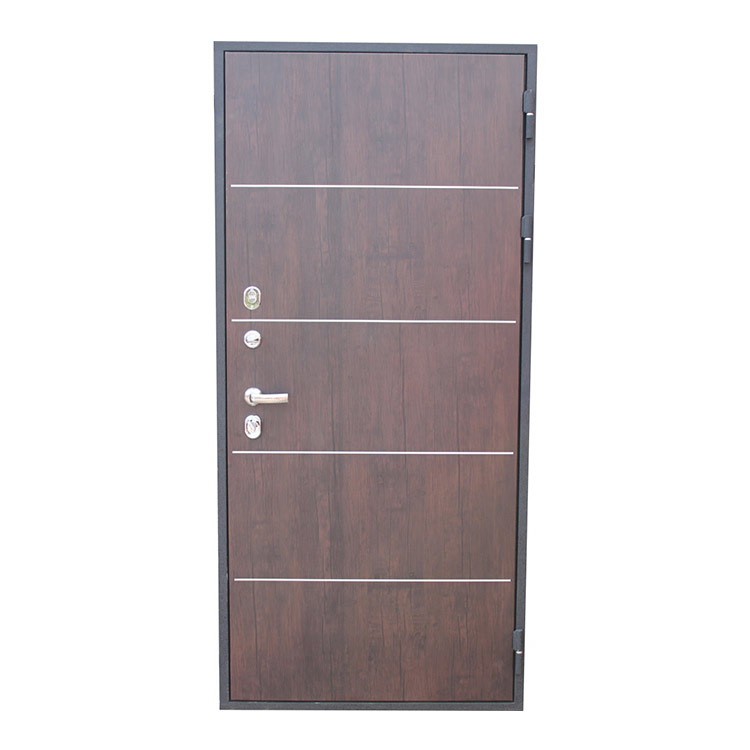 Simple design Italian armored door steel security doors fireproof door