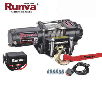 Runva ATV 12v 3500 lbs high speed electric winch