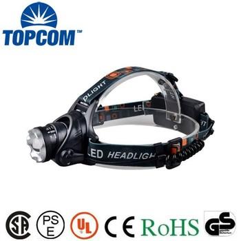 High Luminance Xml 10w Led Headlamp