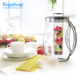 Hot sale products Big size Fruit Infuser Water Pitchers with tube 93oz