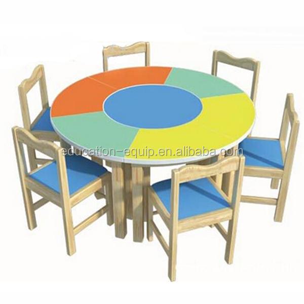 Se971024 Preescolar Muebles,Mesa De Estudio De Madera Para Niños ...
