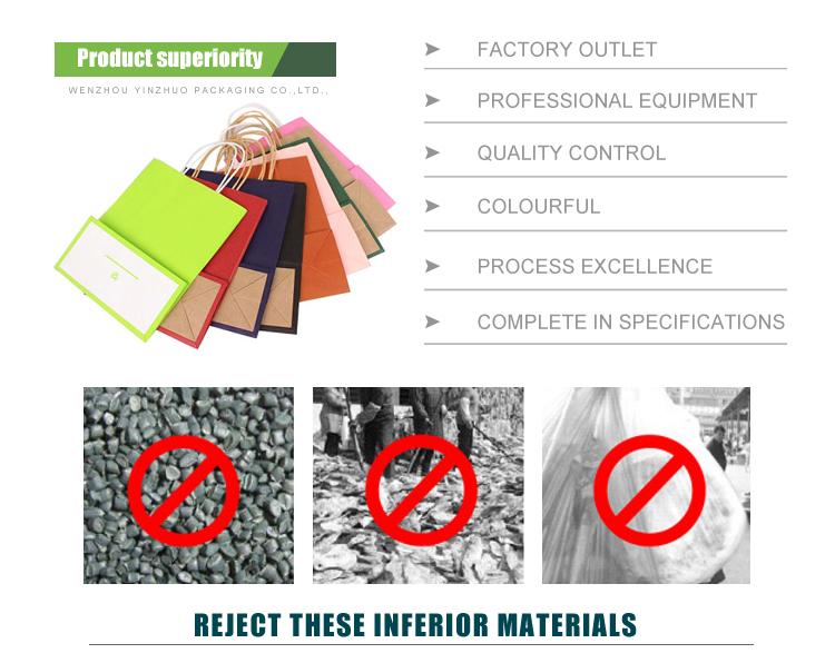 Haute Qualité Imperméable À L'eau en gros sac fourre-tout en papier kraft lavable