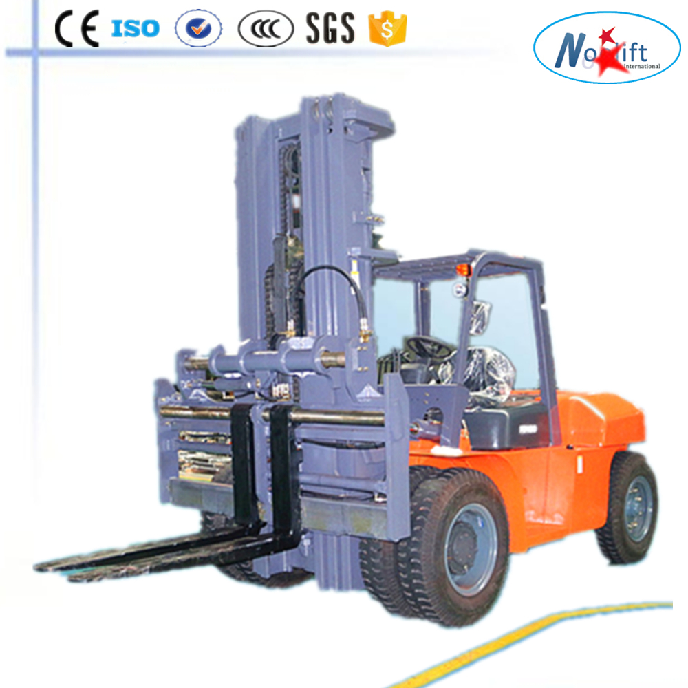 loading goods vehicles via dock levelling loading bays 8T/10T/12T diesel forklifts truck