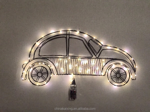 Wholesale mini LED Lights for crafts Car shape Christmas lights Wall Decoration