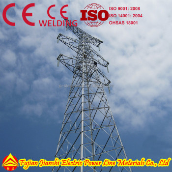 500kv/400kv/345kv/330kv/275kv/230kv/138kv/132kv/110kv Power Tower