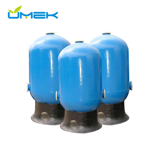 FRP pressure vessel water softener activated carbon filter sand filter multimedia filter