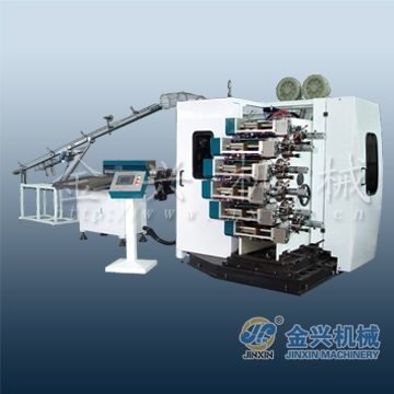 high speed JinXin brand automatic curved offset surface cup printing machinery print plastic cups