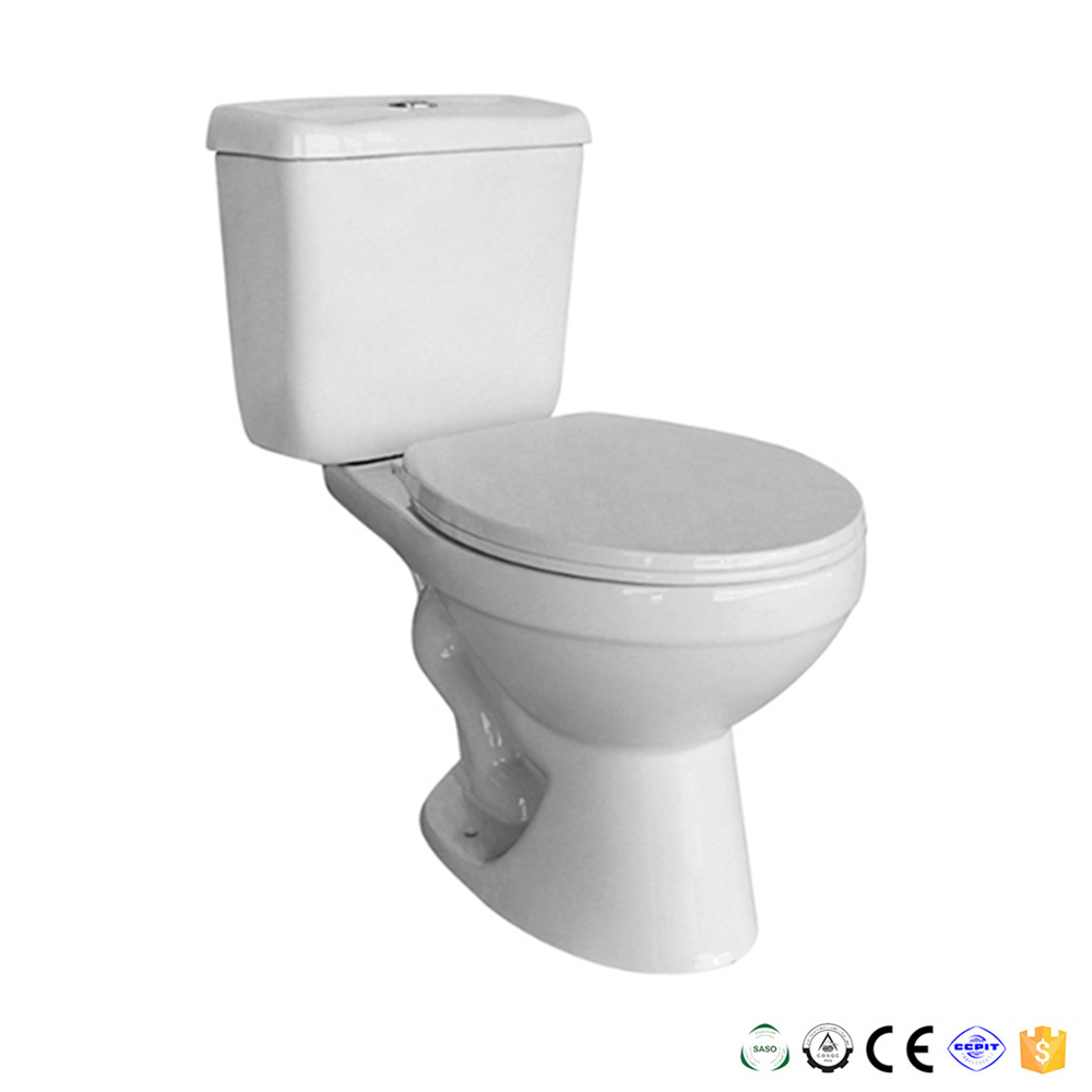 South America two piece bathroom flush toilet