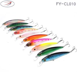 Minnow 3d lure eyes fishing lures fishing tackle hard crank bait