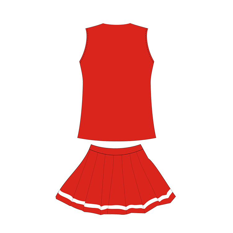 Girls Sexy Custom Cheerleading Dress Wholesale Cheap Free Design Cheerleading Uniform