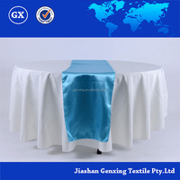100% Polyester disposable Table runner and Tablecloth living room table overlay