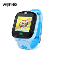 Wonlex 3g gps gsm tracking system kids smart watch android ios phone watches for children