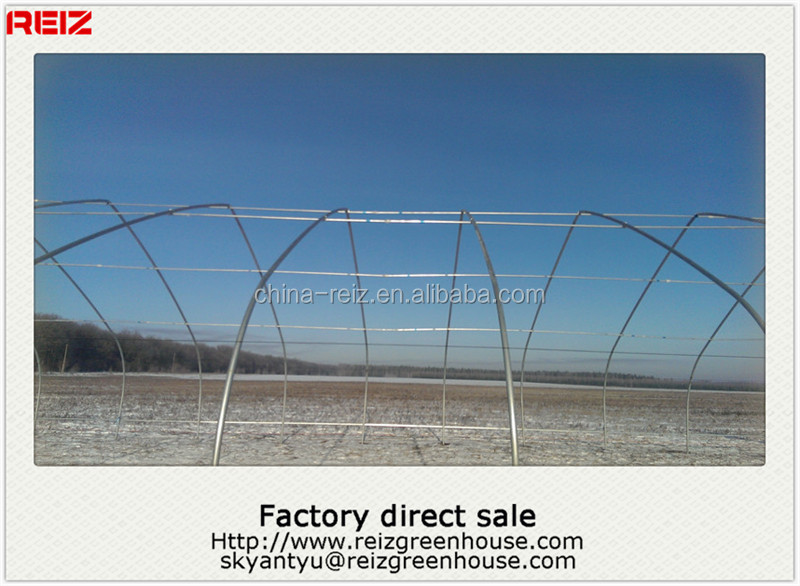 China greenhouse steel structure
