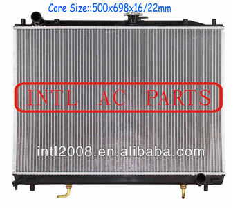 Air ac Radiator assembly for Mitsubishi Pajero v73 v6 CORE 500x698x22/16mm MA968286 auto RADIATOR ASSY