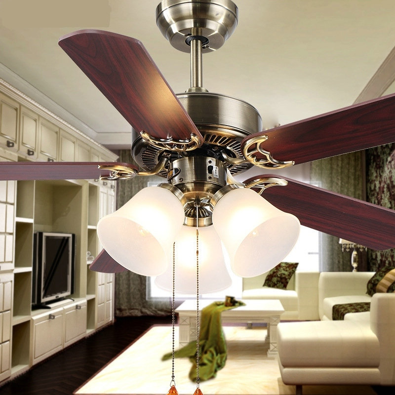 Ceiling Fans With Lights For Living Room: Hot-new-European-household-fan-lights-fan-living-room-lamp
