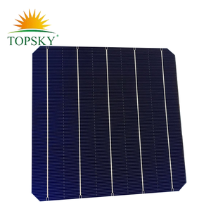 156*156mm Hottest sell 6''x6'' mono-crystalline solar cell 156*156mm mono solar cell