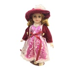 Porcelain indian doll for gift and collection