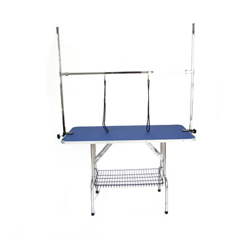 Steel Foldable Pet Grooming Table Bath Grooming Table for a dog
