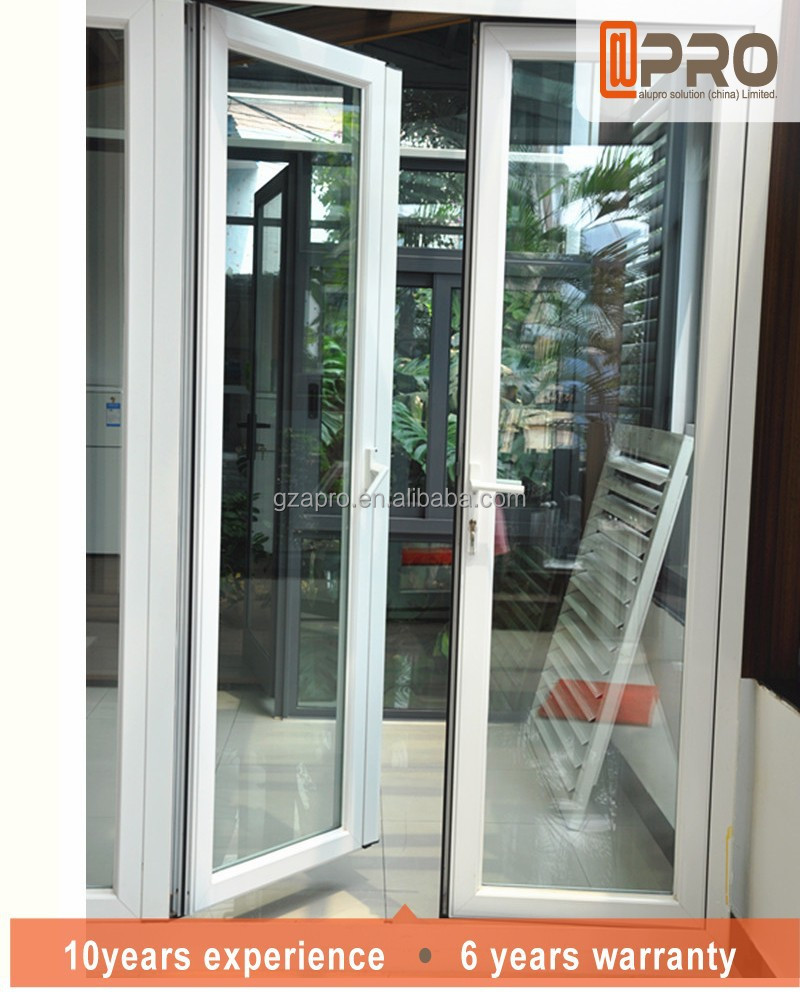 populaire ontwerp poort scharnier glazen deur klapdeur-deuren ...