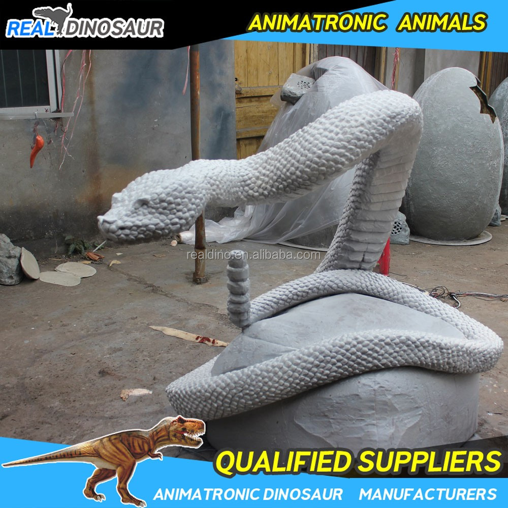 High degree of simulation animal model robotic rubber animal for sale