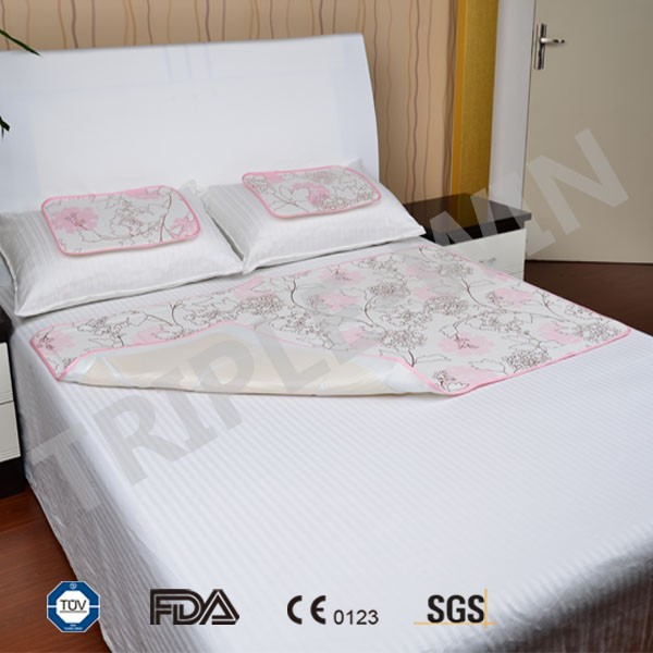 Japan summer cooling gel pad sleeping mat for bedroom use