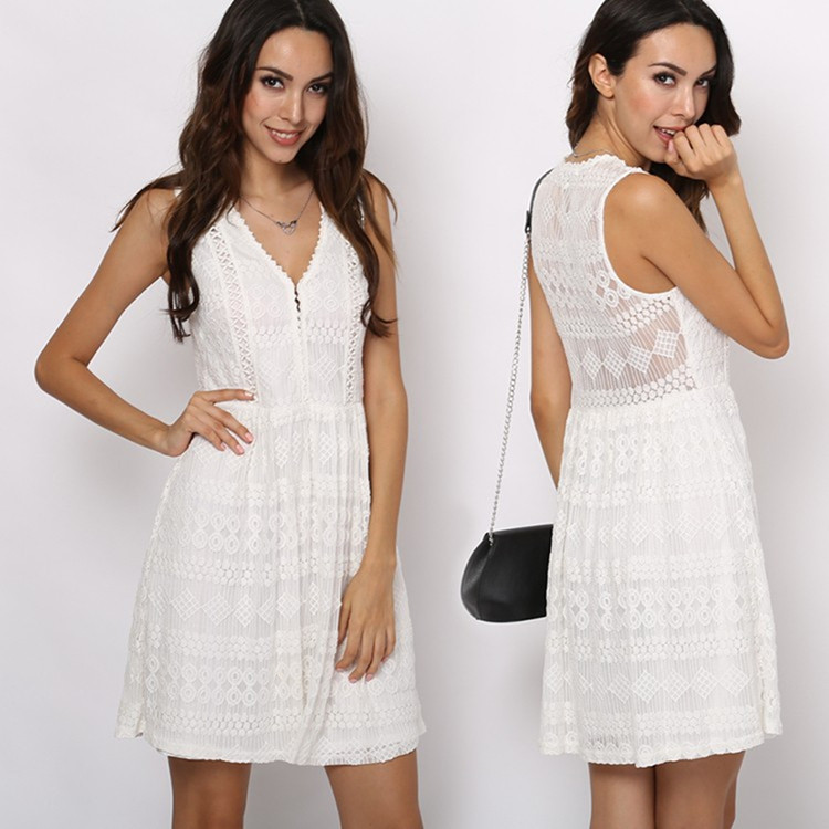 Fashion woman clothes & New Lady casual lace dress
