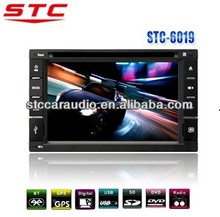"6.2 "" / 7 '' Double Din Multi - media Touch Screen Car DVD Player * 2014 NEW design! Stc-6019 *"