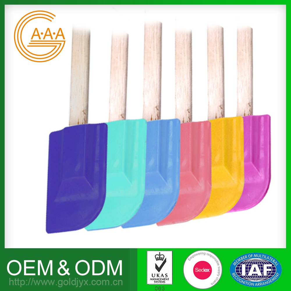 Golden Supplier Silicone Scraper Knife Various Shapes Special Design Silicone Flexible Spatula