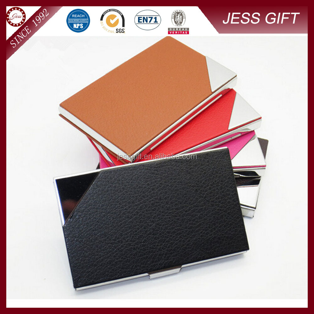 Unique metal name card holder business card holders for for Unique business card cases