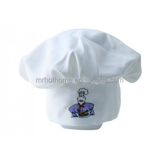 Hot Sale Printed Chef Hat from Factory