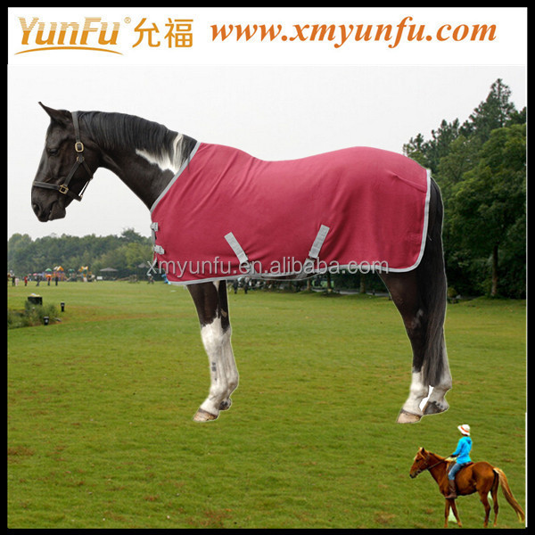 Custom Fashion stable horse blanket;Red horse blanket