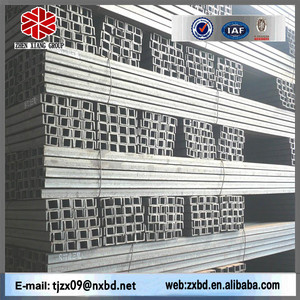 Q235 C shaped steel channels, c channel prices