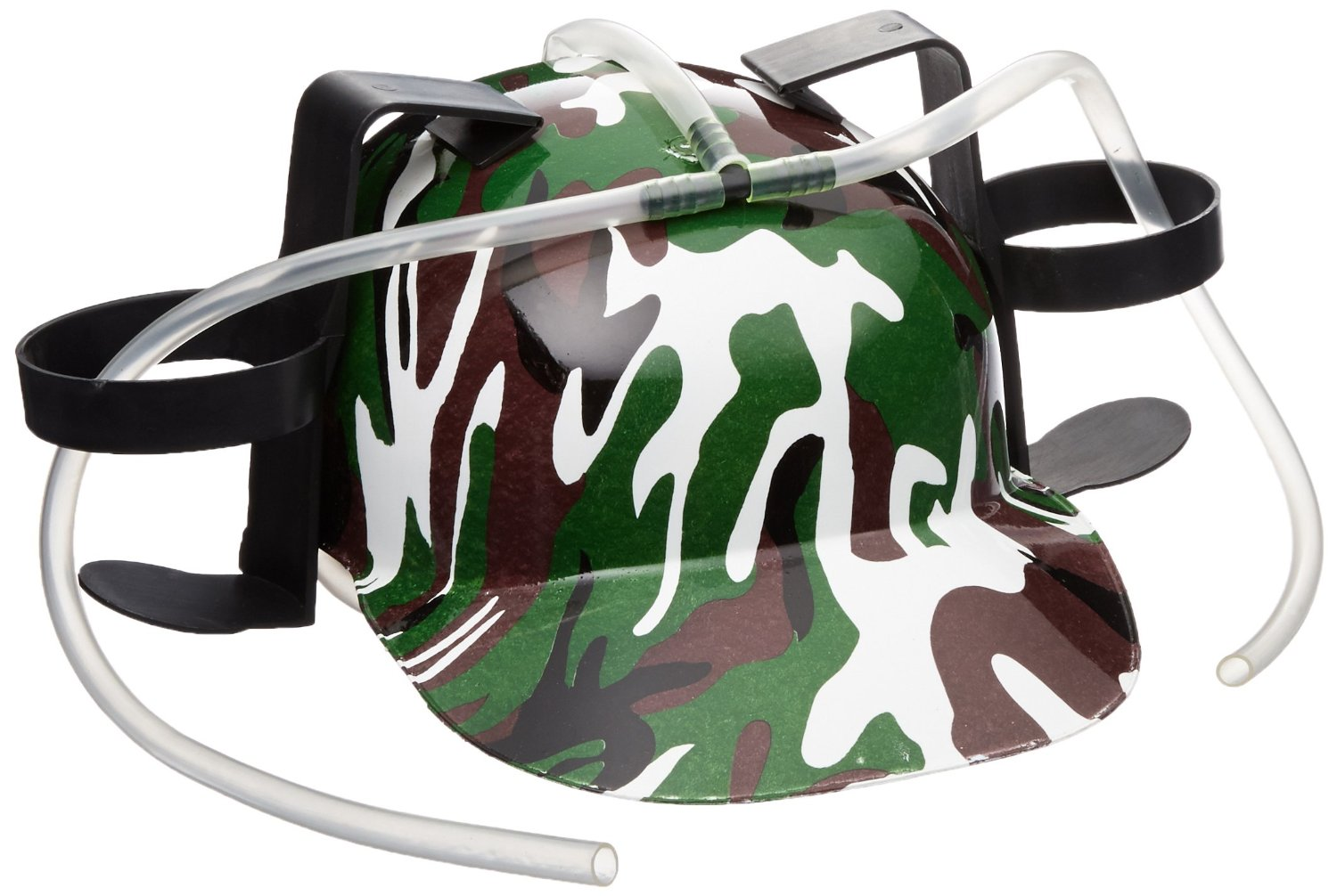 Camo Camouflage Beer Soda Drinking Party Military Helmet Fun Hat Drink Army