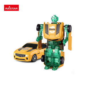 Rastar new product 1:64 miniature trans robot toy car