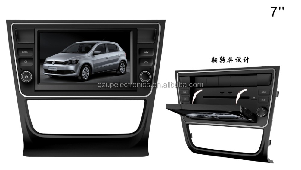 Special 2 double din car dvd for VW G5/G6 SAVEIRO with navigation