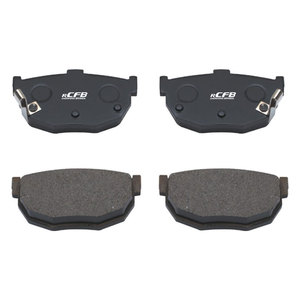 Hot sell brazil disc brake pads with noiseless
