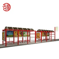 hot sale garden furniture outdoor shelter bus shelter bus stop design