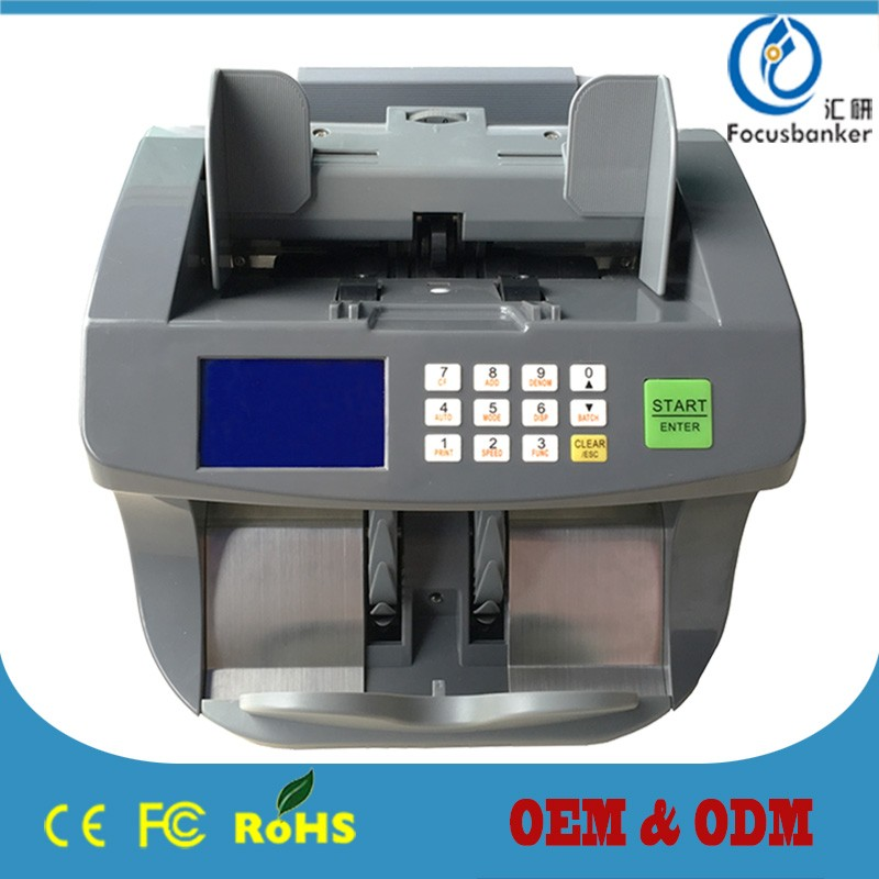 (Best-seller) FB-50X Outstanding model Money Counting Machine / Banking Equipments for Andorra / Euro